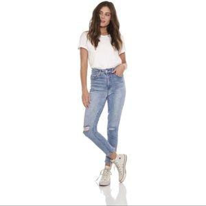 Ashley Mason Women's High Rise Mom Jeans